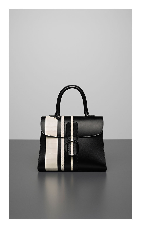 Brillant MM, Sporty Stripes Exotic : Noir & Ivory