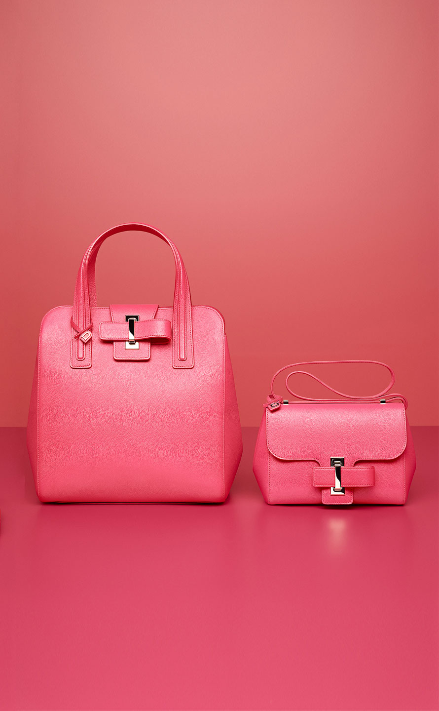 Simplissime Tote PM, Rodéo : Rose Candy - Simplissime City Mini, Rodéo : Rose Candy
