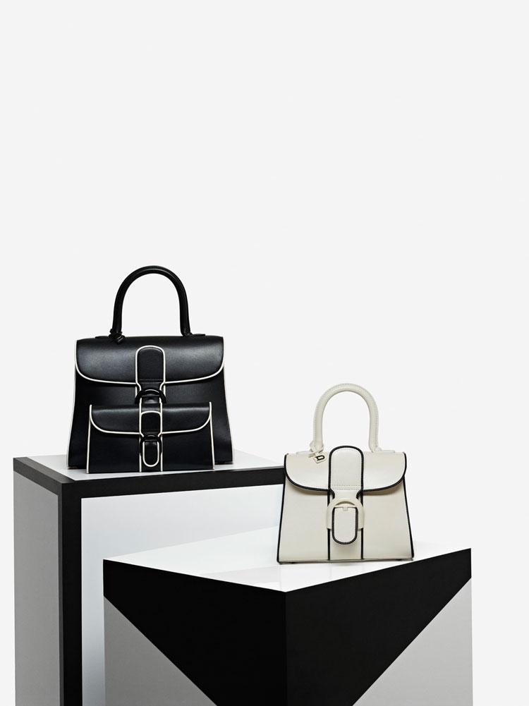 Brillant MM, Illusion : Noir & Ivory - Brillant Portefeuille, Illusion : Noir & Ivory - Brillant Mini, Illusion : Ivory & Noir